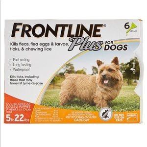 Frontline plus 5-22lb 6 month supply